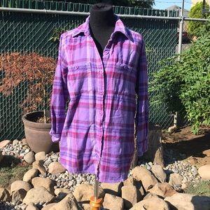 Cozy soft flannel shirt
